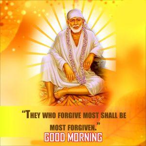 Sai Baba Good Morning Photo Pics Downlaod