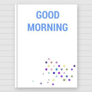 Good Morning 3D Photos Pic Images Wallpaper