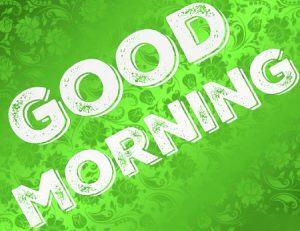 Good Morning 3D Photos Pics For Facebook Download