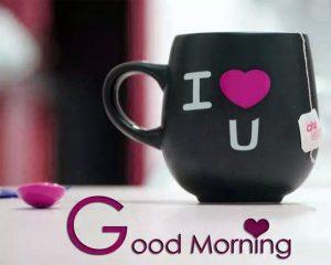 Good Morning 3D Photos With Tea Cup