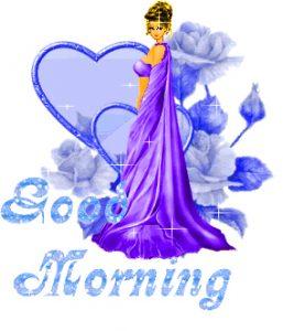 Good Morning 3D Photos For Beautiful Girls