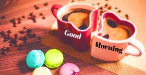 Good Morning 3D Photos With Love Heart