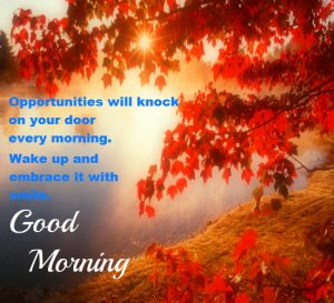 Good Morning 3D Photos With Quotes