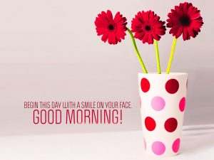Good Morning Images Pictures For Her Download With Flower