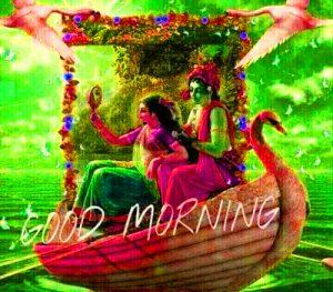 God Radha Krishan Good Morning Photo Pics Download