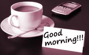 Good Morning Tea Cup Images Wallpaper HD Download