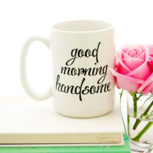 Good Morning Tea Cup Photo Pictures With Flower