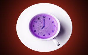 Good Morning Tea Cup Photo Wallpaper
