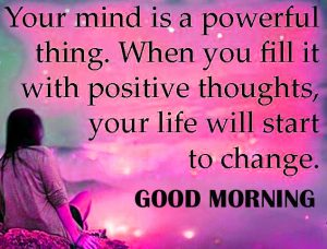 Good Morning Thoughts Images In English