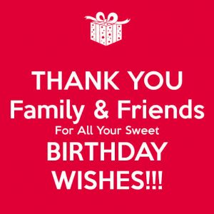 Thank You Images For Bithday Wishes HD Download