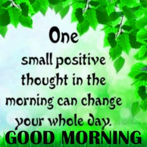 Good Morning Thoughts Images Pics In English