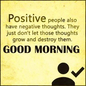 Positive Good Morning Thoughts Images Wallpaper Free Download