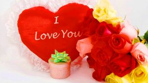 free I love you For girlfriends & Boyfriends Images Photo Pics Free Download With Red Rose