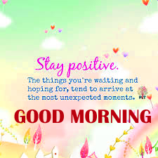 Good Morning Thoughts Images Pic In English HD Download
