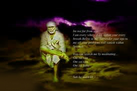 shirdi sai baba Pictures Images Wallpaper With Quotes