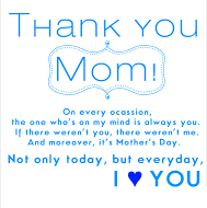 Thank You Images Pics For Mom With Quotes
