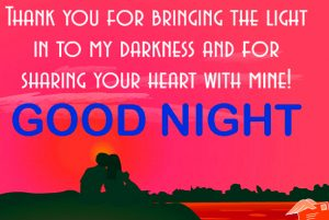 Romantic Good Night Images Wallpaper With Quotes