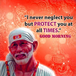 Good Morning Sai Baba Images Photo Pics Download
