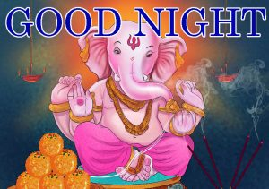 God Good Night Images Wallpaper With Lord Ganesha