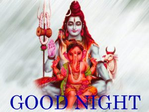 God Good Night Images Wallpaper With Lord Shiva