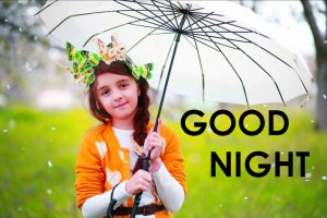Cute Good Night Images Wallpaper Pictures Download With Girls
