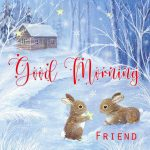 Winter Good Morning Images Pics Wallpaper for Whatsapp / Facebook