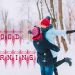 Winter Good Morning Images Pics With Honeymoon Couple