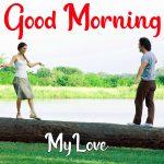 Love Couple Good Morning Pics Wallpaper Free