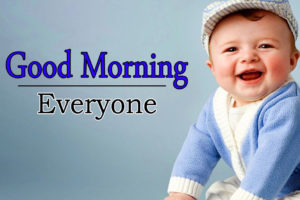 Cute Baby Boy Good Morning Images