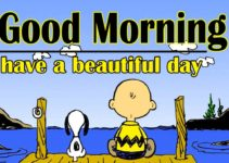 Snoopy good Morning Wallpaper HD Download