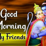 Ram Ji & Hanuman Ji God Good Morning Images Download