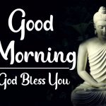 God Good Morning Wallpaper With Gautam Buddha