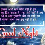 Hindi Shayari Good Night Images 27
