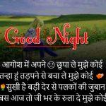 Hindi Shayari Good Night Images 42