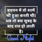 Hindi Shayari Good Night Images 44
