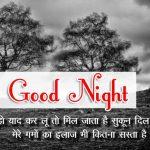 Hindi Shayari Good Night Images 58