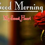Morning Wishes Images With Red Rose Pics 2021