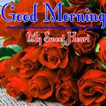 Morning Wishes Images With Red Rose Wallpaper Free HD