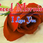 Morning Wishes Images With Red Rose Images With I Love you