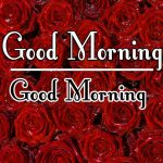 Latest Morning Wishes Images With Red Rose Pics Download