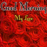 Morning Wishes Images With Red Rose Pics New Download