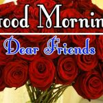 Morning Wishes Images With Red Rose Pics HD