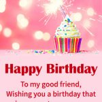 Free Happy Birthday Wishes Wallpaper for Facebook